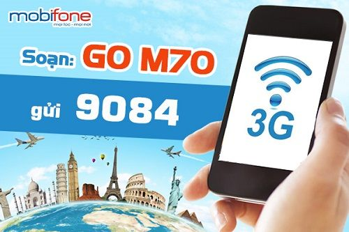 Dịch vụ 3G trọn gói của Mobifone
