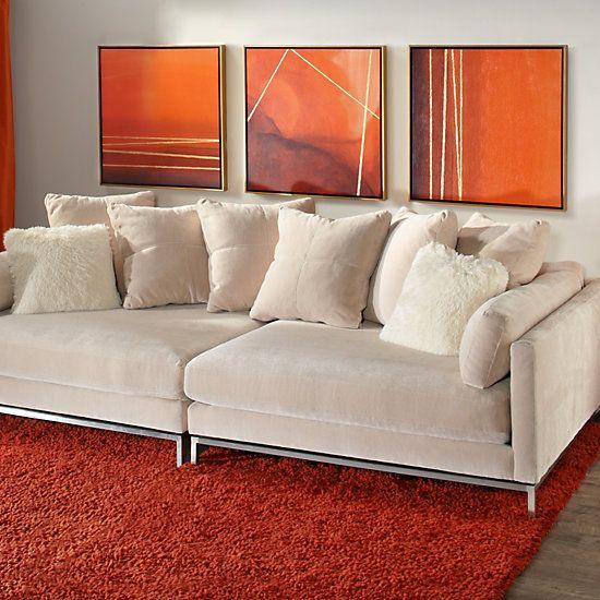 ventura 2 pc extra deep sofa | living room. | pinterest | deep