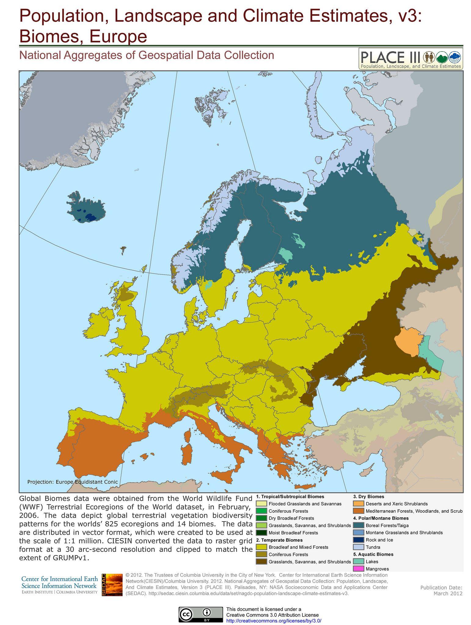 Biomes Europe Biomes India World Map Map [ 2048 x 1542 Pixel ]