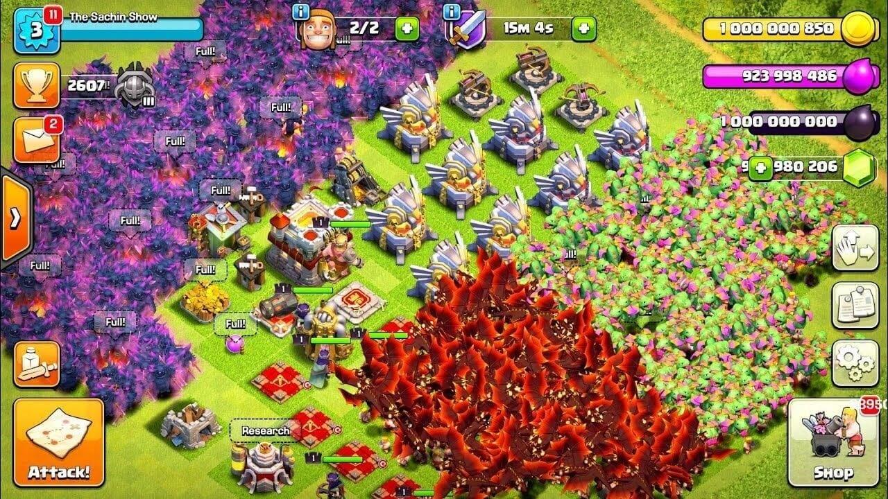 Clash Of Clans Mod Apk V13 0 31 Latest Hack Unlimited Gold