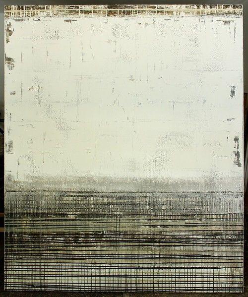 hetart:  white wall - 180 x 150cm - mixed media on canvas - CHRISTIAN HETZEL