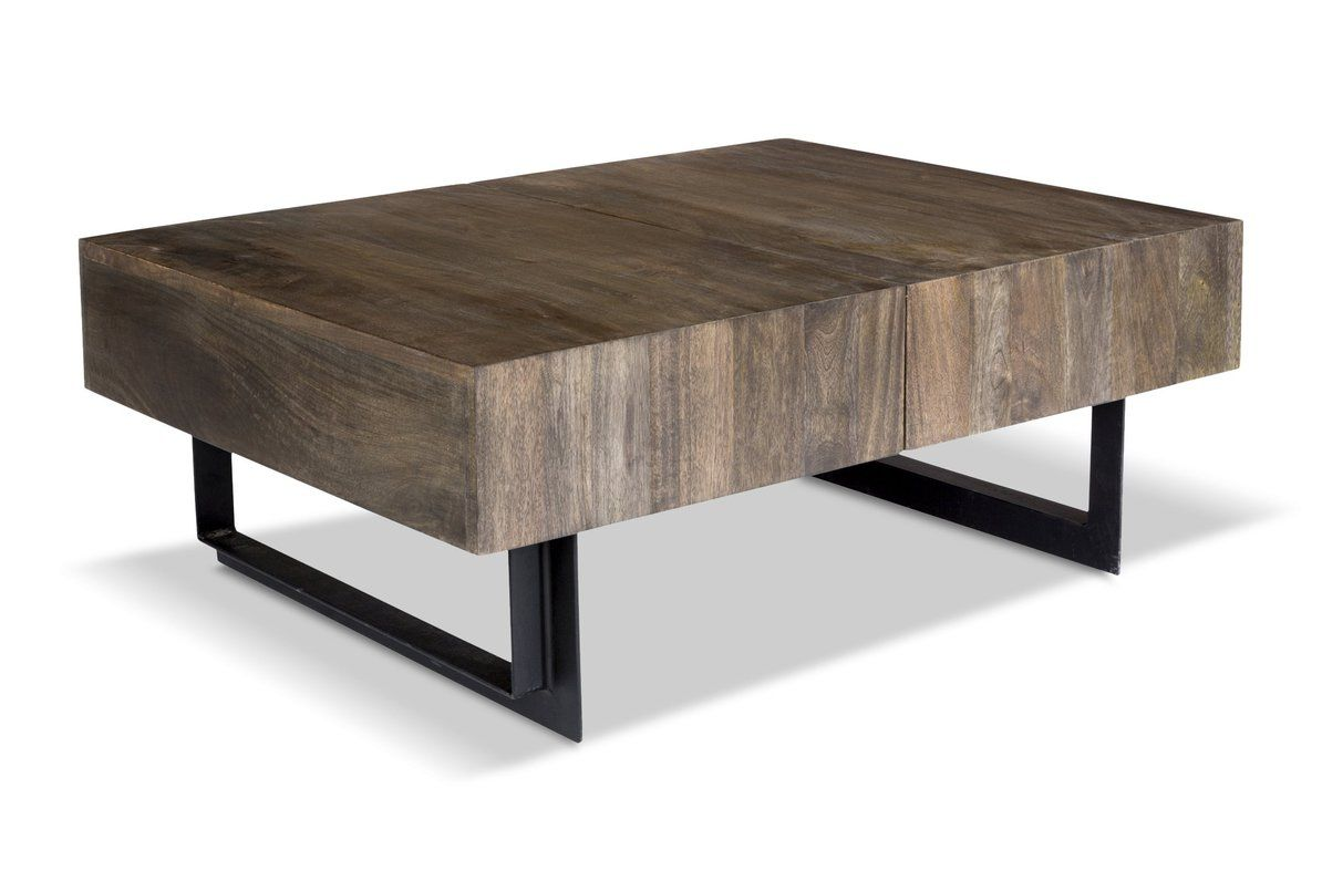 Unique Coffee Table Modern Organic Cocktail Table Custom Made