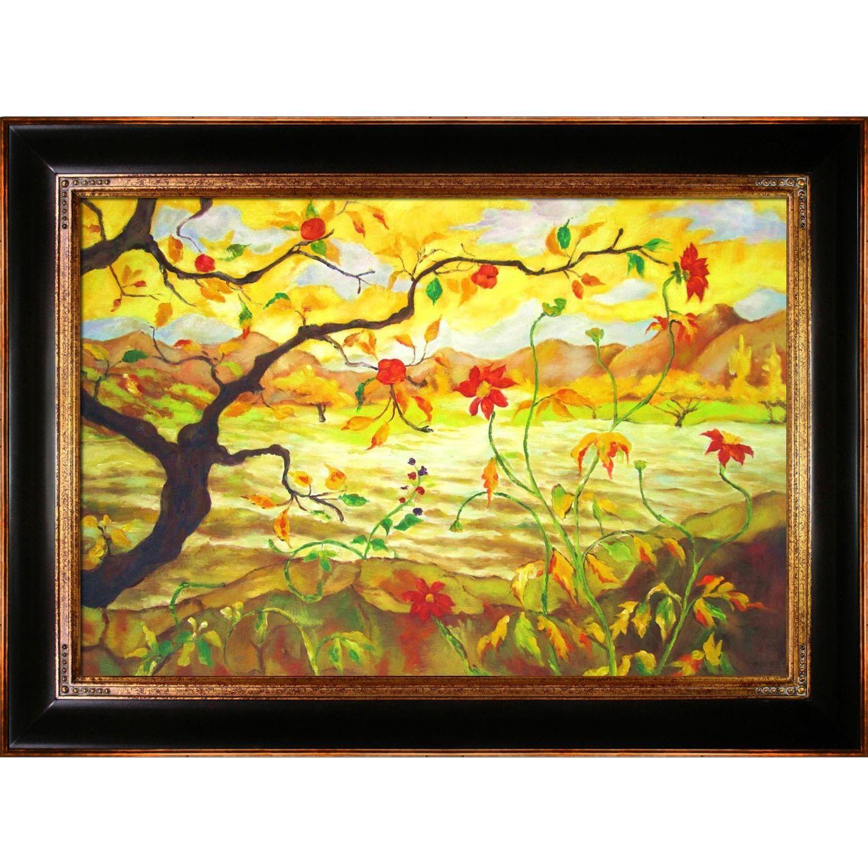 La Pastiche Paul-Elie Ranson \'Apple Tree With Fruit\' Hand-painted ...
