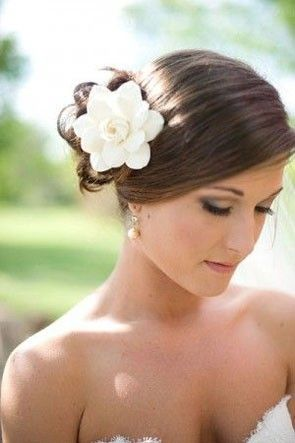 67e05dbb0e95 Southern Wedding Flowers: Gardenia and Magnolia Details | Wedding ...