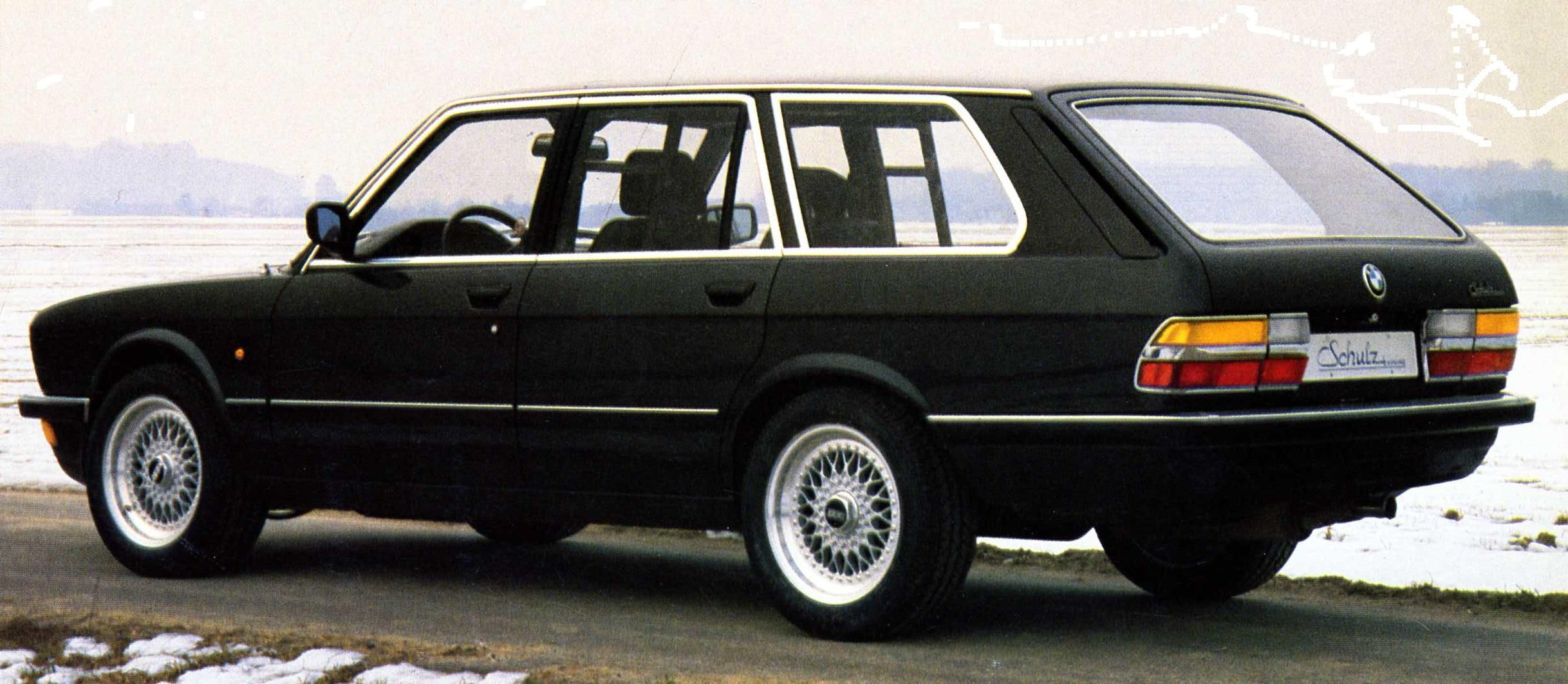OG BMW 5 series Touring Type E28 Designed and built