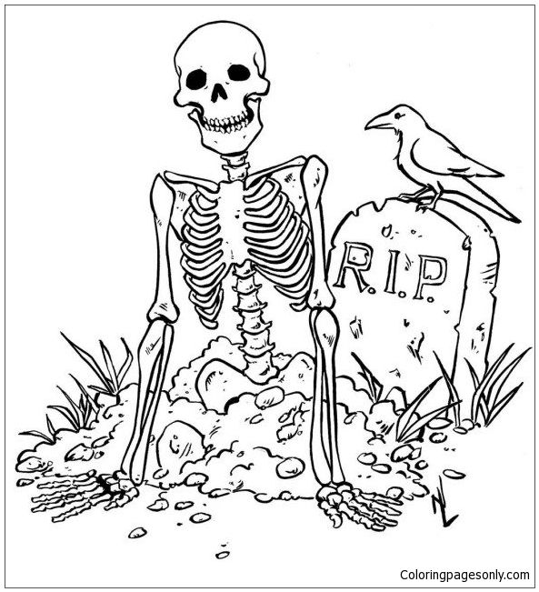 Scary Halloween Coloring Page Http Coloringpagesonly Com Pages Scary Halloween Free Halloween Coloring Pages Halloween Coloring Pages Witch Coloring Pages