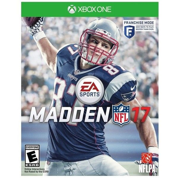 Madden NFL 17 Xbox One ($60) ❤ liked on Polyvore featuring