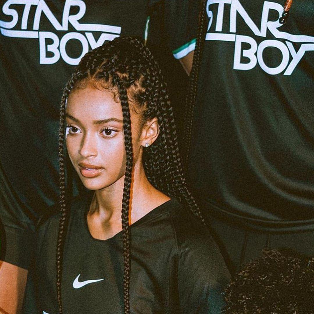 Zara Audu Boxbraidsstyling Boxbraidshairstyles Cornrowsboxbraids Girlhairstyles Frenchbraidhairstyles In 2020 Hair Styles Curly Hair Styles Braided Hairstyles