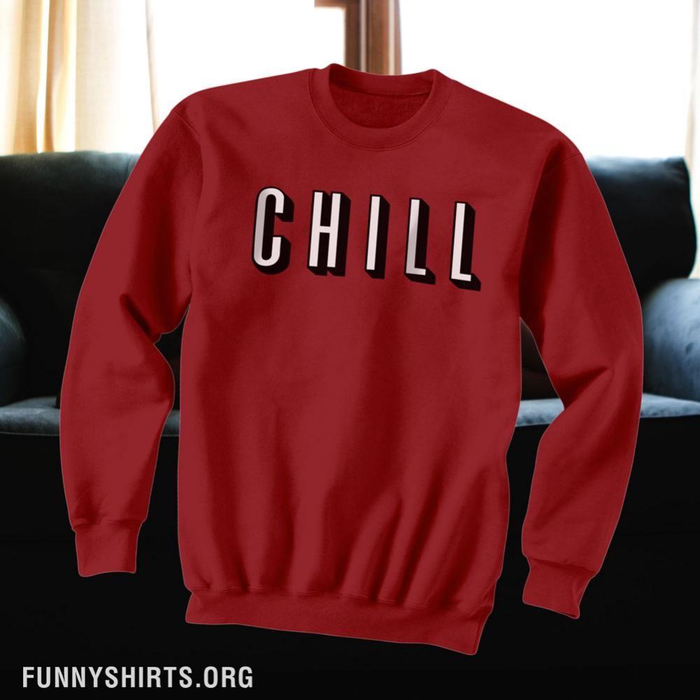 Netflix Chill Logo in 2020 Netflix, Chill, Sweatshirts