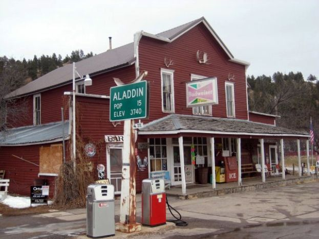 Aladdin, WY General Store; where grandpa and grandma used to get their mail.