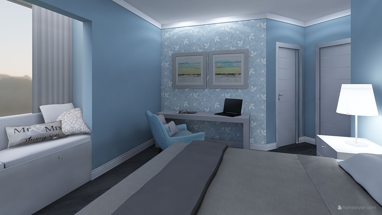Bedroom Design By Chris M Interiordesign Bedroomdecor 3d Home