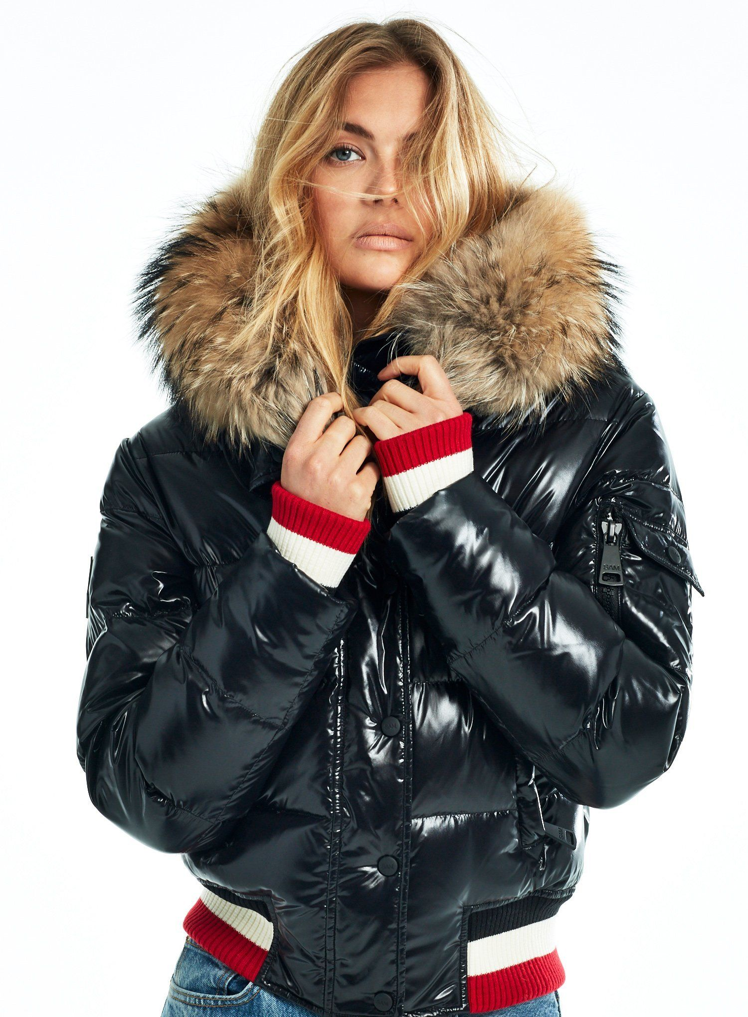 Sasha Sasha Sam New York Sam Nyc Jacket Luxury Outerwear Jackets Fashion Story [ 2041 x 1500 Pixel ]