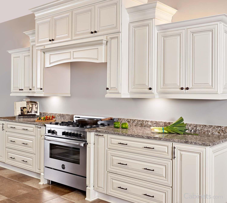 99+ White Cabinets with Chocolate Glaze - Kitchen ...