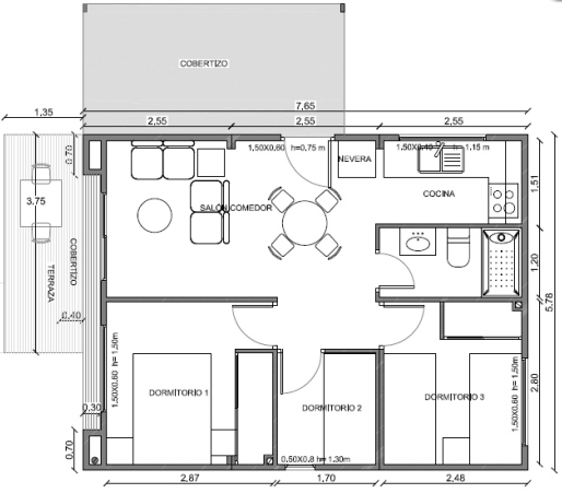 planos de casas simples y economicas