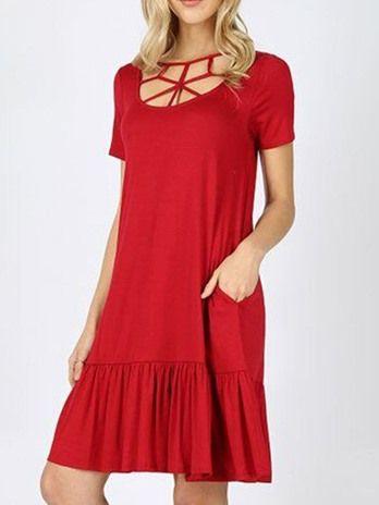 Besteseller Günstige Kleider für Frauen, kaufen schicke ...