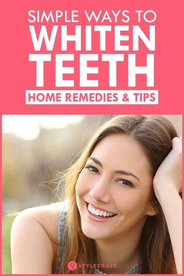 7 Best Ways To Naturally Whiten Teeth