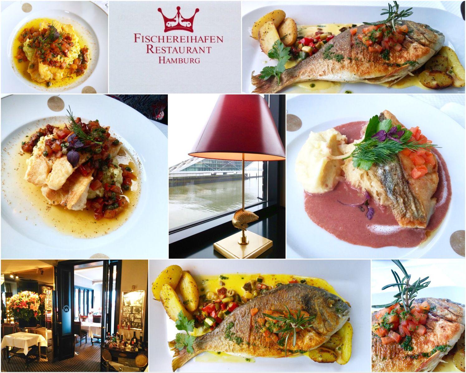 Gourmet menü restaurant hamburg fischereihafen Food