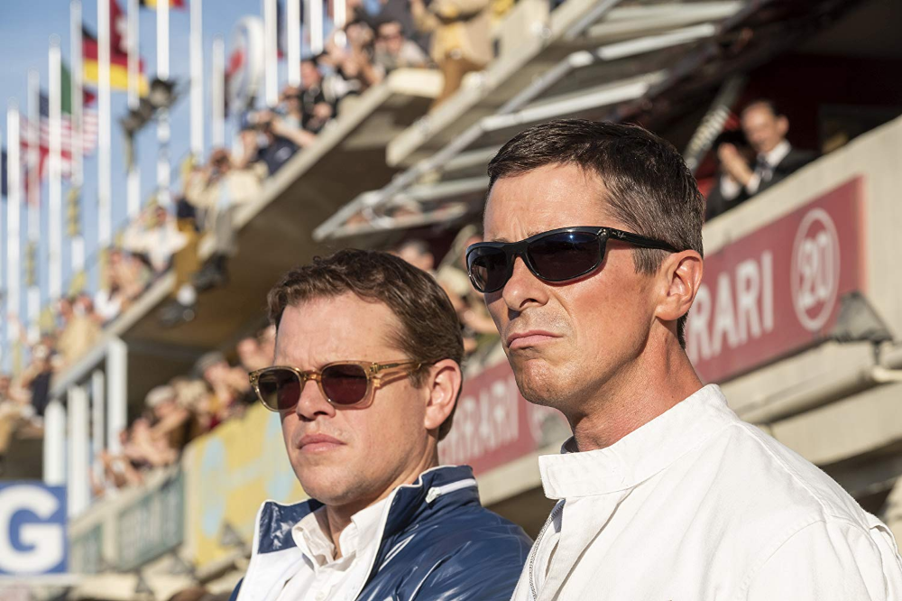 Christian Bale And Matt Damon In Ford V Ferrari 2019 Christian