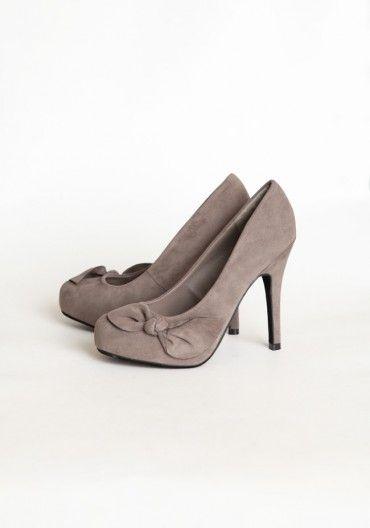 Zapatos grises High Colorado infantiles WxBt1