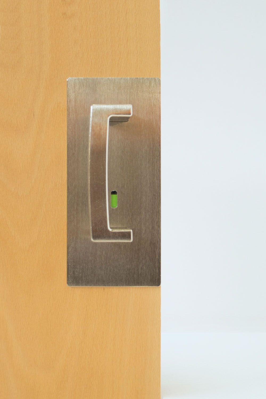 Cl400 Ada Offset Emergency Release Pocket Door Handles Sliding