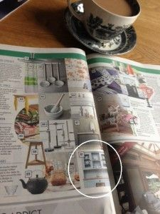 The Kitchen Dresser Company placed in the Top 100 Must Haves for the Stylish Home. The Sunday Times Home Magazine.