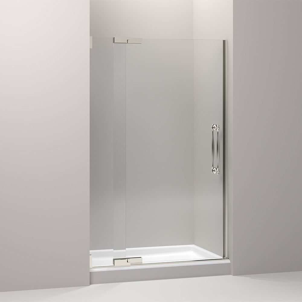 Finial 47 75 X 72 5 Pivot Shower Door Shower Doors Frameless