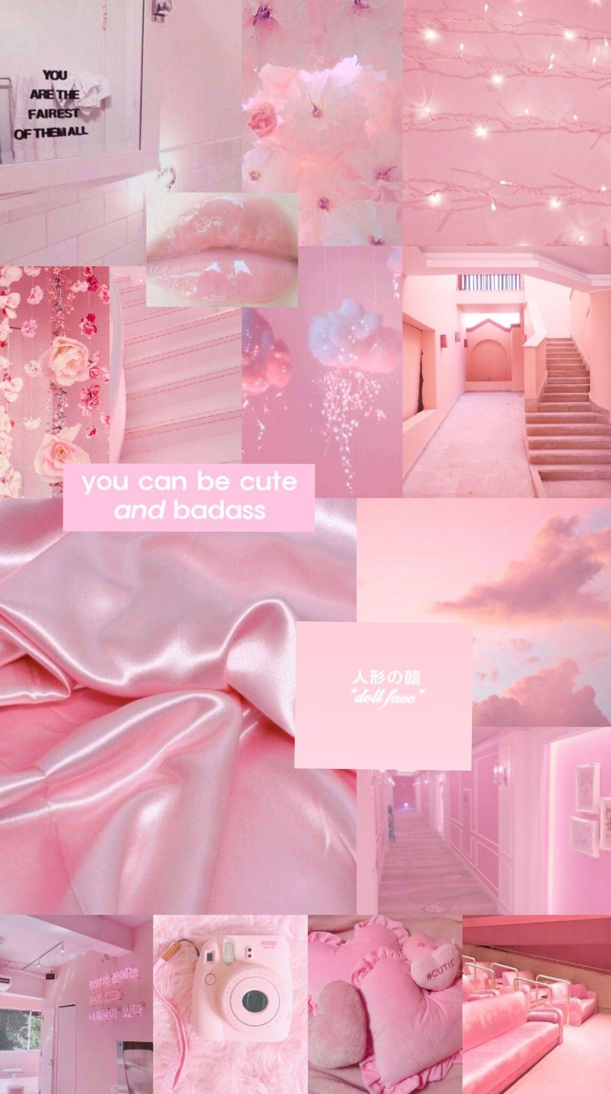Pink Wallpaper Pink Pinkwallpaper Warna Koral Kertas