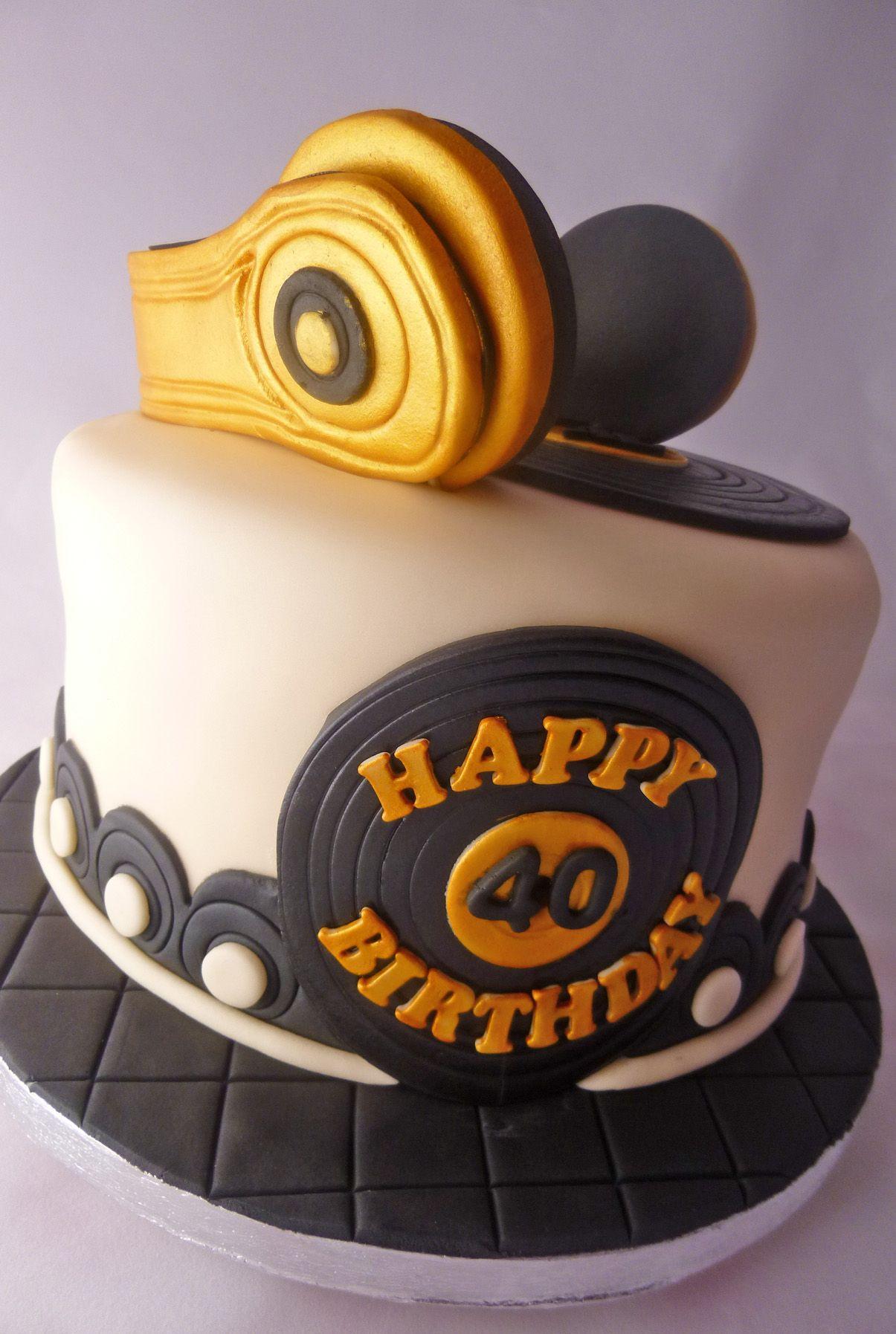 Dj Cake Cakes Pinterest Cake Dj Cake And Birthday Cake