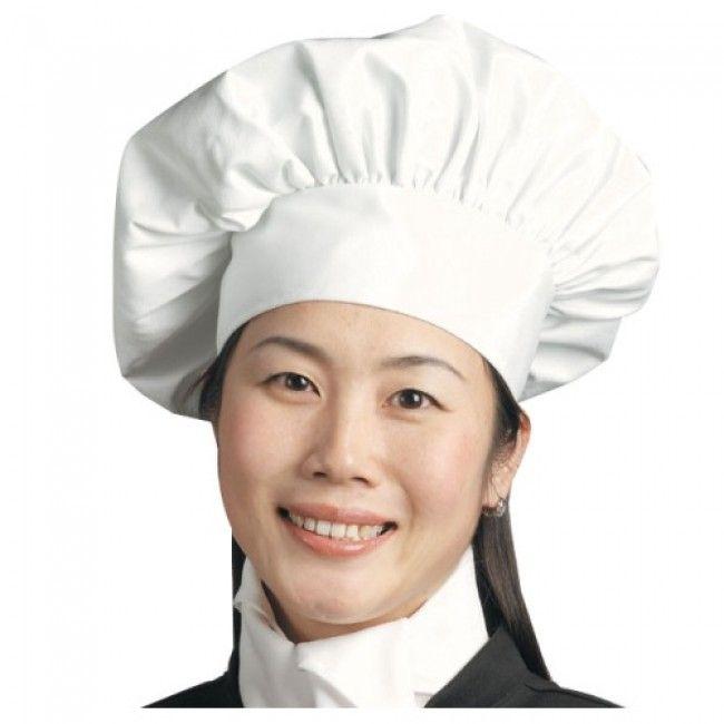 99678bff37e Poplin Floppy Chef Hat