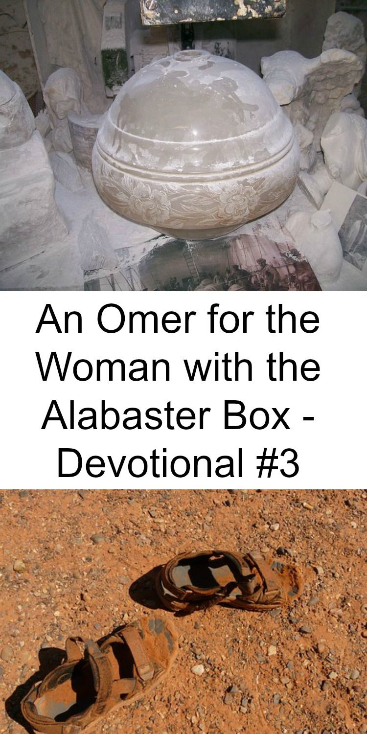 An Omer For The Woman With The Alabaster Box Devotional 3