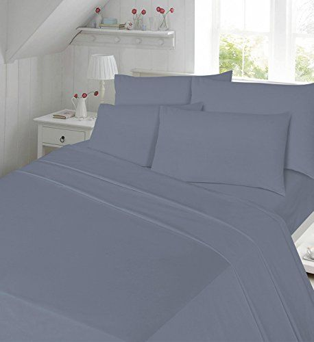 Extra Deep Fitted Sheet Bed Sheets 100/% Cotton Poly Single Double King SuperKing