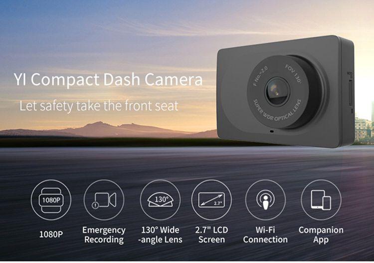 Xiaomi yi compact dash camera dash camera dashboard