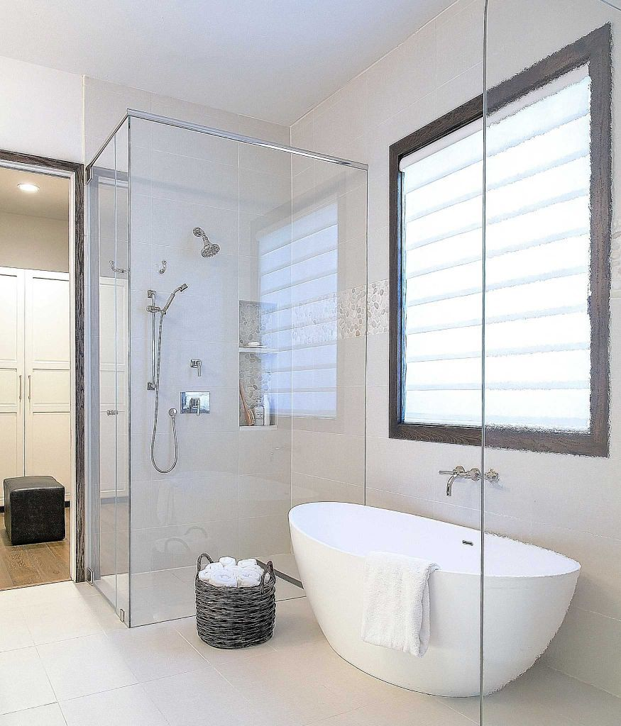 10 great bathroom remodels no bath required for Tub master