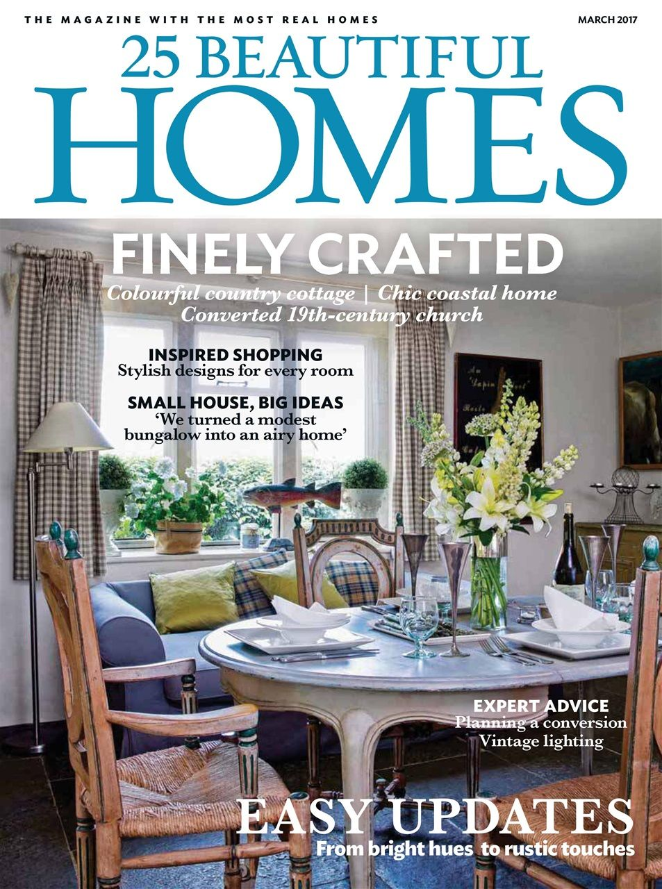 25 Beautiful Homes magazine subscription - March 2017. It\'s a spring ...