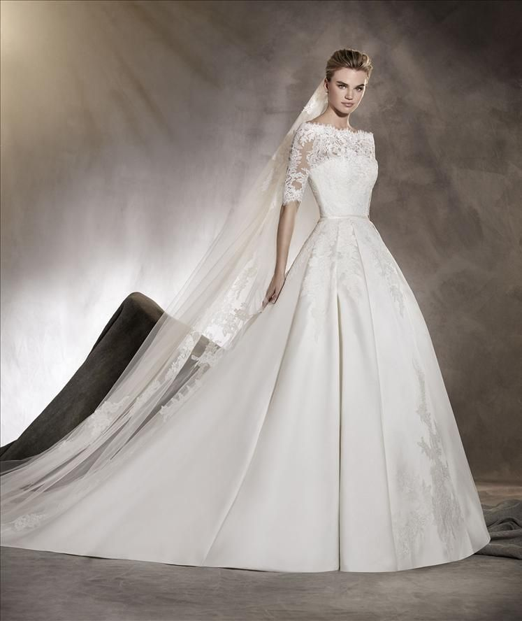 Pronovias Wedding Dress Albasari Blush Bridal Shop Pronovias Wedding Dress Wedding Dresses Winter Wedding Dress