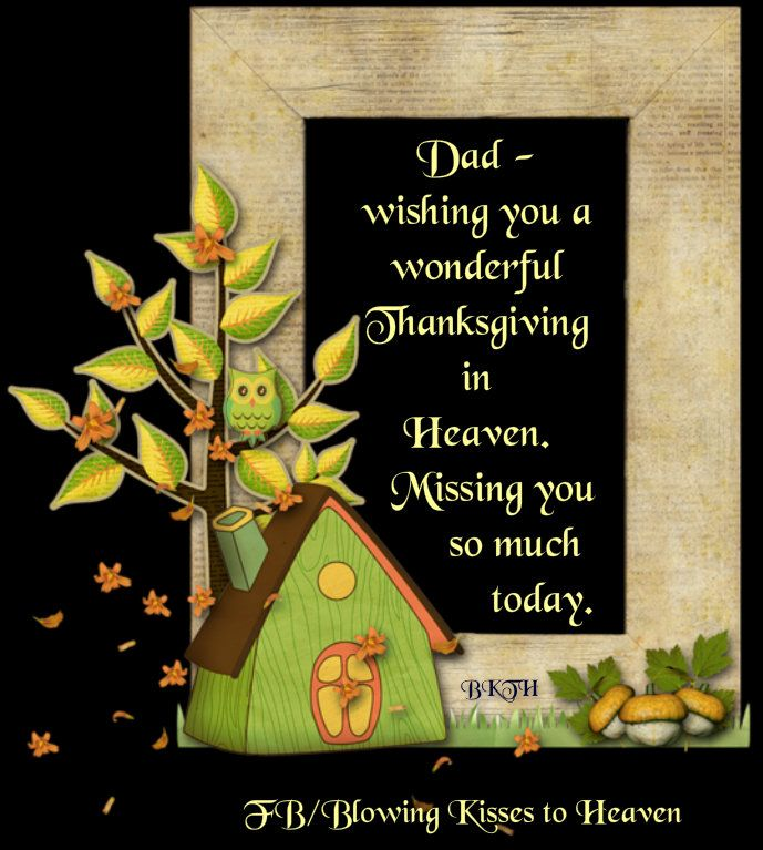 Missing my Dad this Thanksgiving   Missing My Loved Ones in