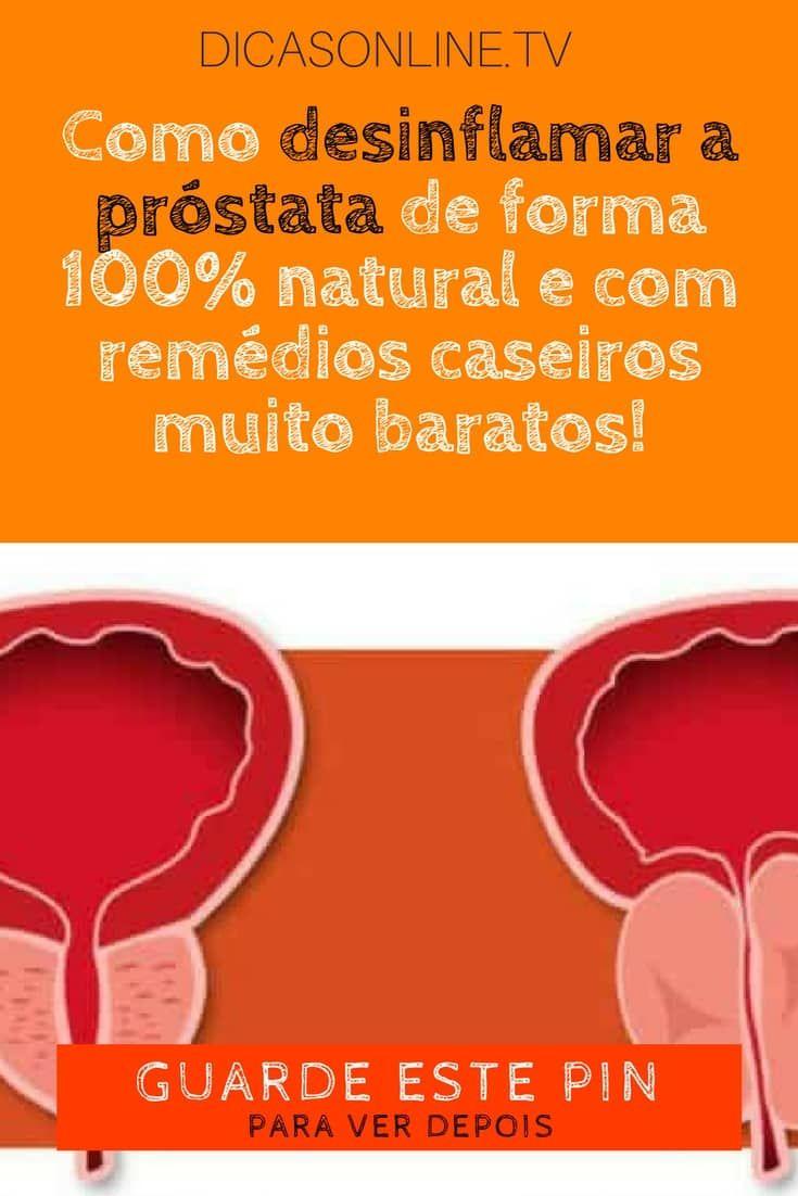 remedio caseiro para inflamação da prostata