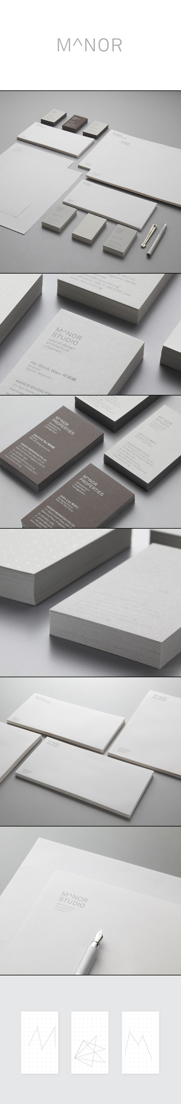 New Brand Identity For Manor Studio By Manic Bp O Brand Identity Branding Design Identity