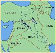 tigris river on a world map Tigris Euphrates River A River System Is Part Of The Palearctic