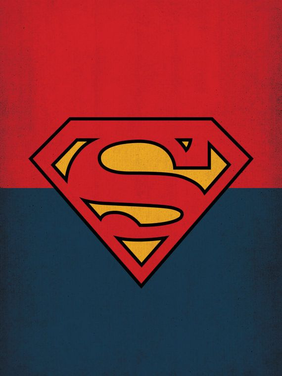 DC Universe Comic Store Superheroes Minimalist by TheRetroInc
