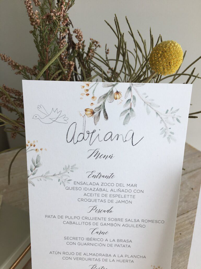 La papelería de Mamen, BAG, es muy elegante. De hecho son muchísimos los novios que han contado con ella para las invitaciones de su...