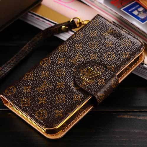 68de8e0d5d29 Hot Louis Vuitton iPhone 6s 6s Plus Wallet Case - Luxury Guides - Monogram  Brown - Luxury iPhone6S Case