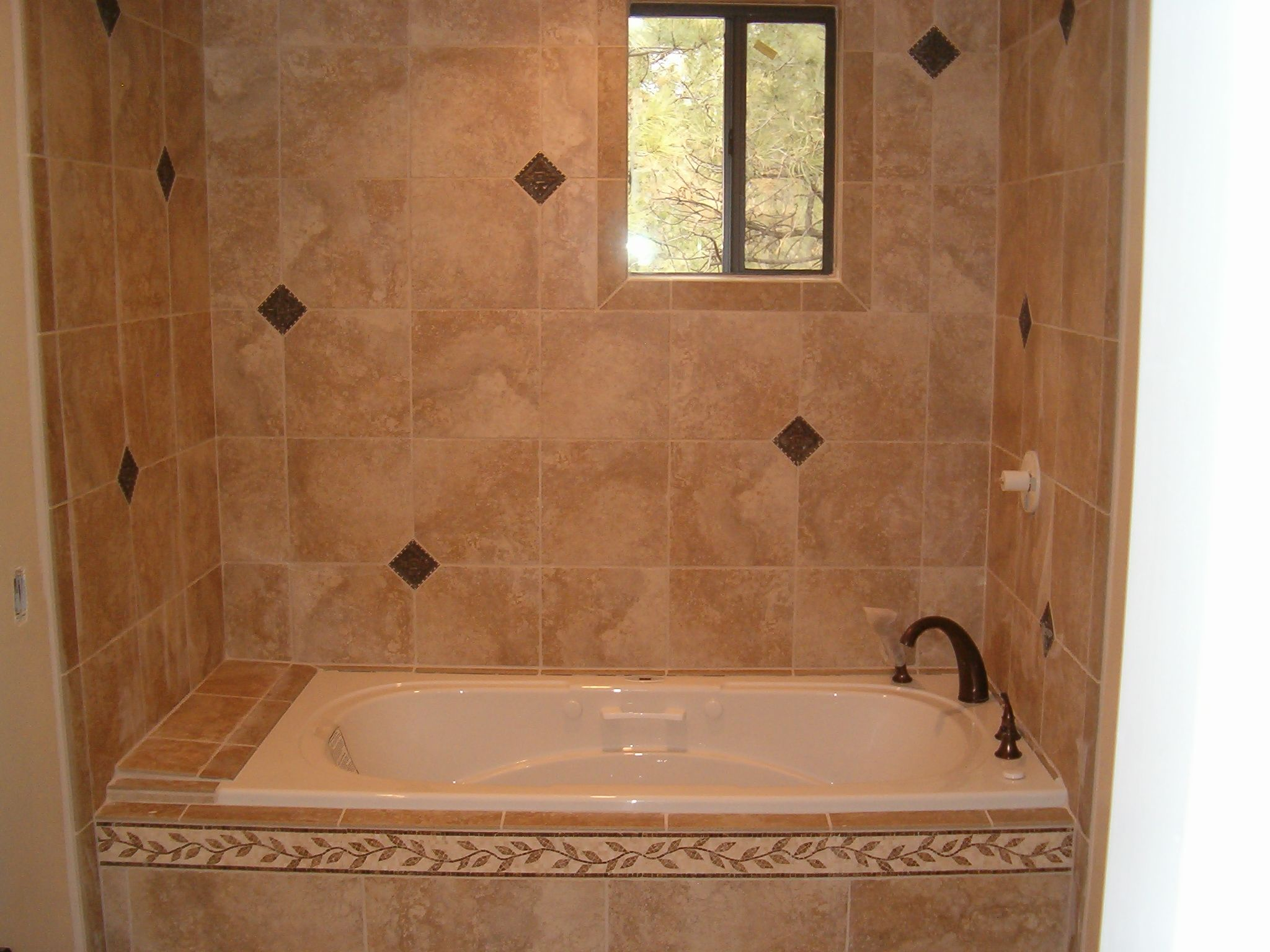 Tile floor images all around floorings bathroom tub for Bathroom tub designs