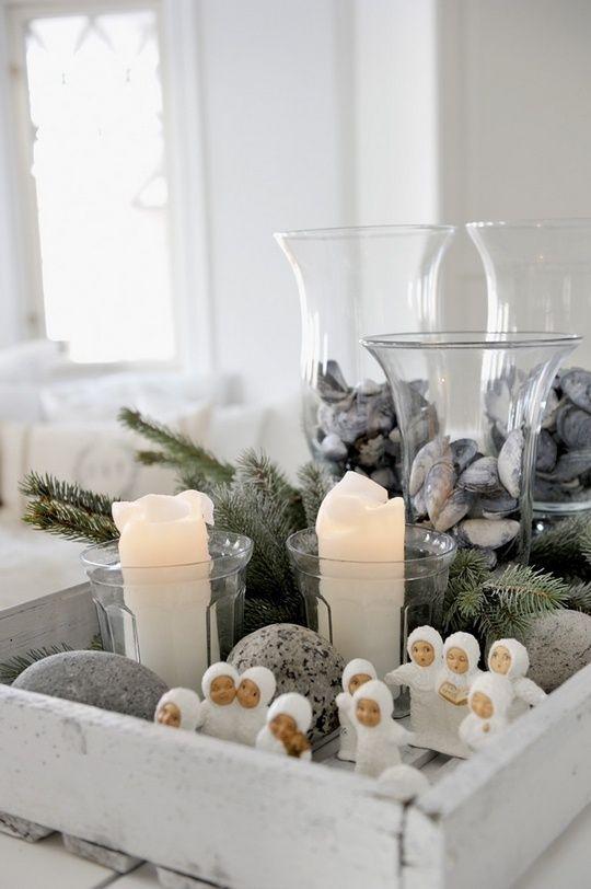 Scandinavian Christmas winter decor ideas