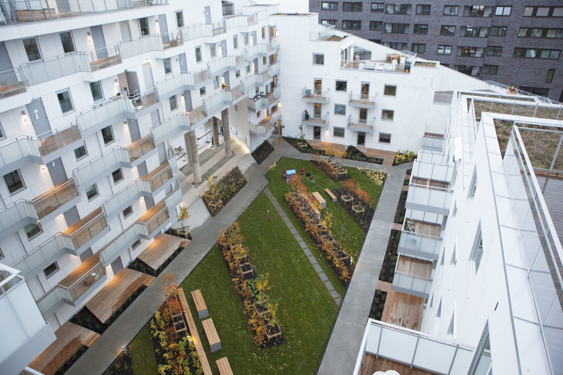 Brilliant Image Of Apartments Architecture Building Srenga Block 6 Mad As