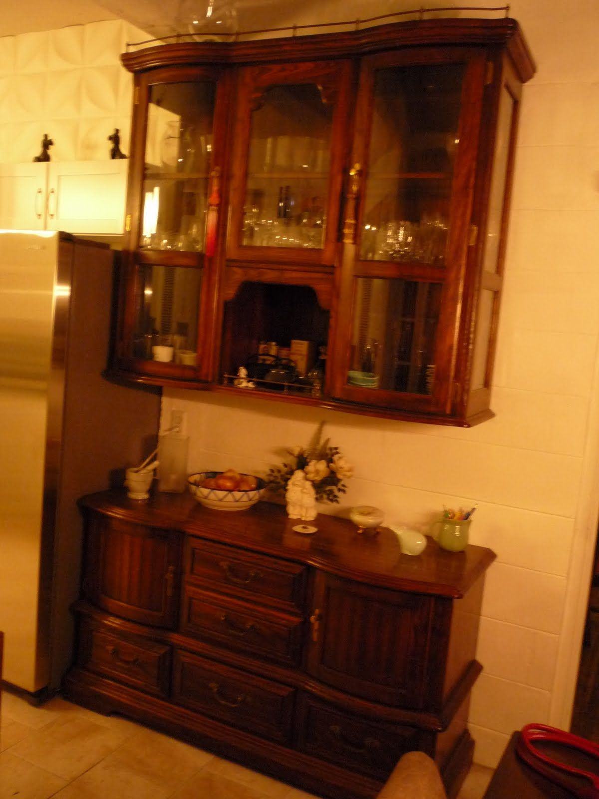 Repurpose Kitchen Cabinets