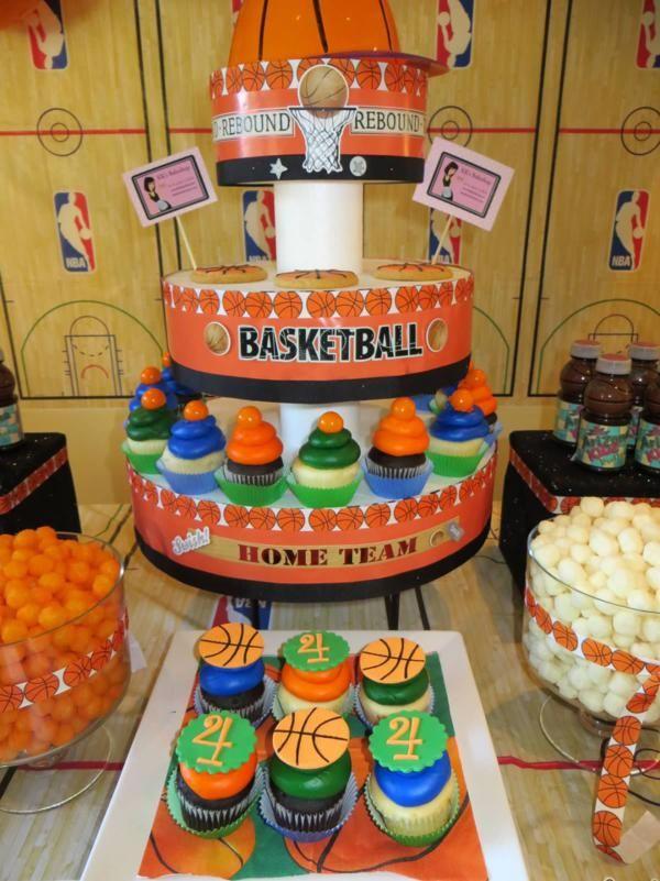 dos para fiestas infantiles inspiradas en el basketball ideas para decoracion