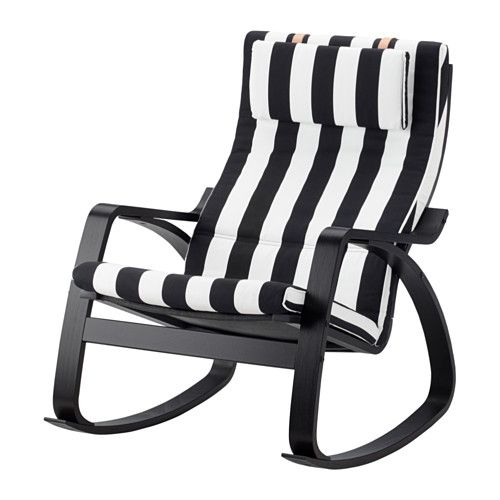 Ikea White Rocking Chair Masters Golf Folding Chairs Poang Black Brown Stenli Shopping The Cover Is Easy To Keep Clean As It Removable And Can Be Dry Cleaned