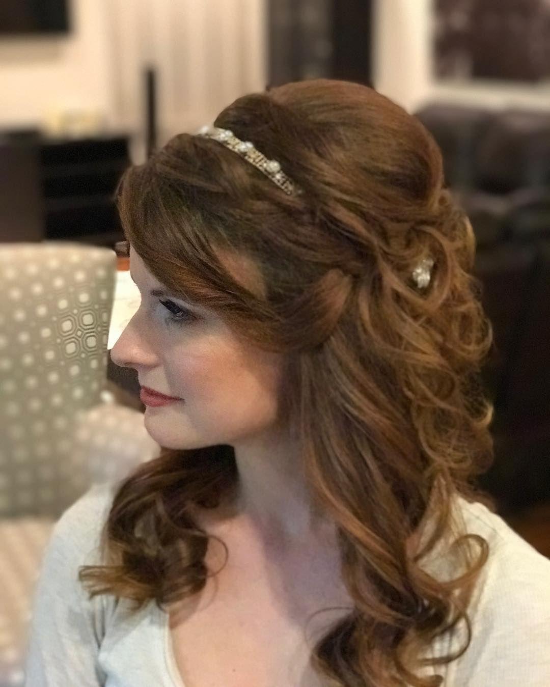Salon Maison Amazing Bridal Curls Bride hairstyles