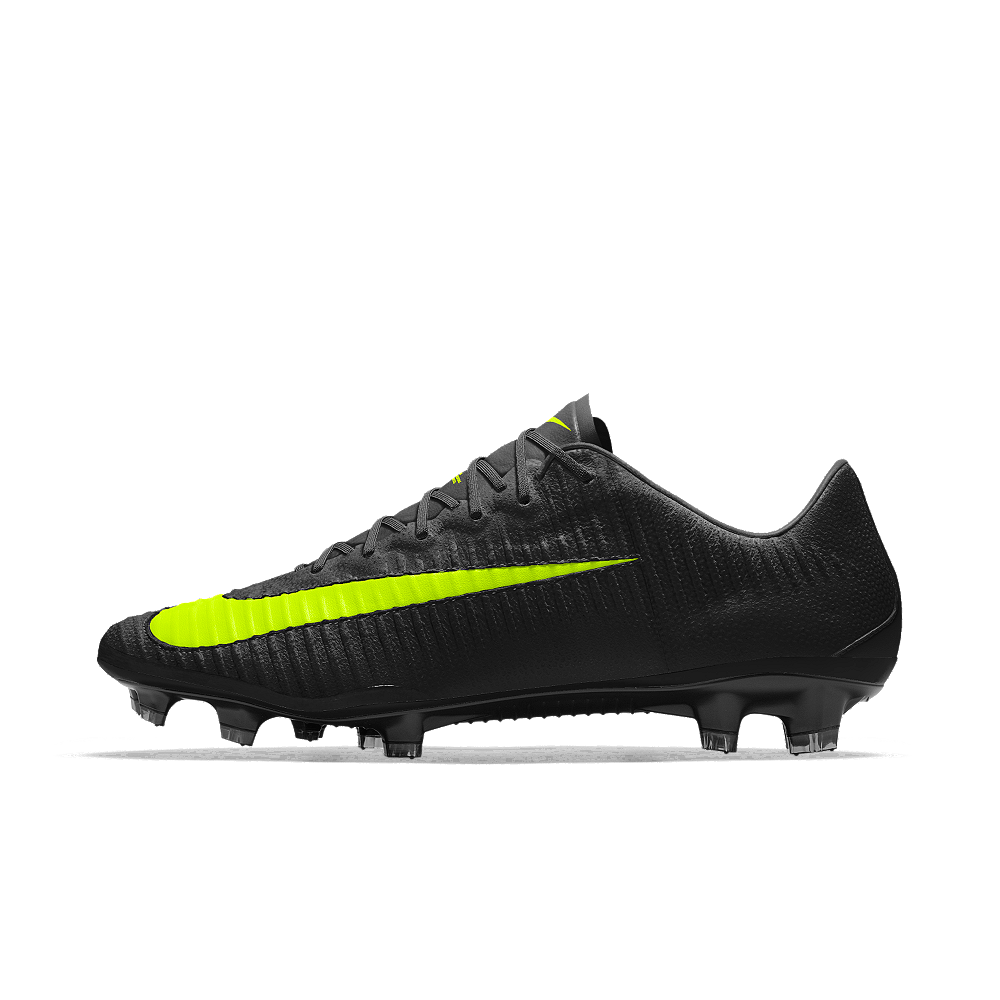 8933b7c43b1 Nike Mercurial Vapor XI Tech Craft FG iD Men s Firm-Ground Soccer Cleats  Size 7 (Yellow)